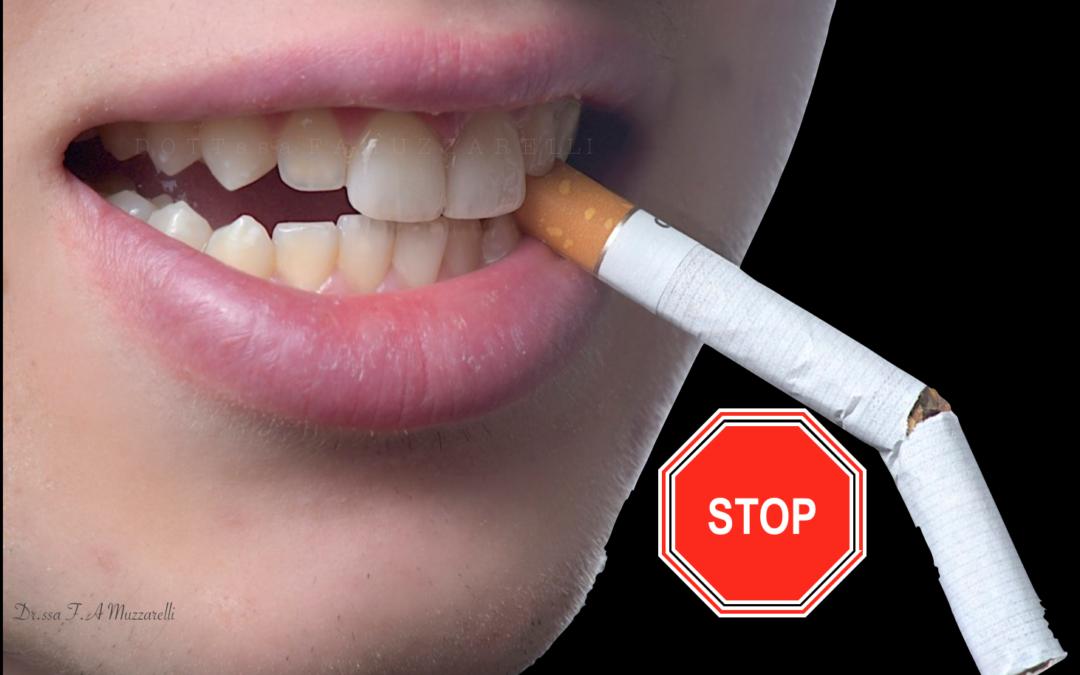 Il fumo fa male ai denti?